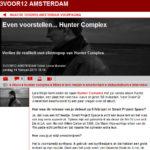 3voor12 amsterdam interview: verlies de realiteit met electropop van hunter complex