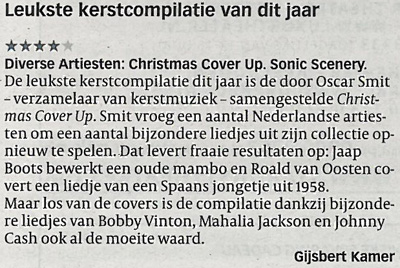 volkskrant review: various artists - christmas cover up