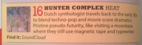 hunter-complex-heat-mojo-magazine-review-january-2014