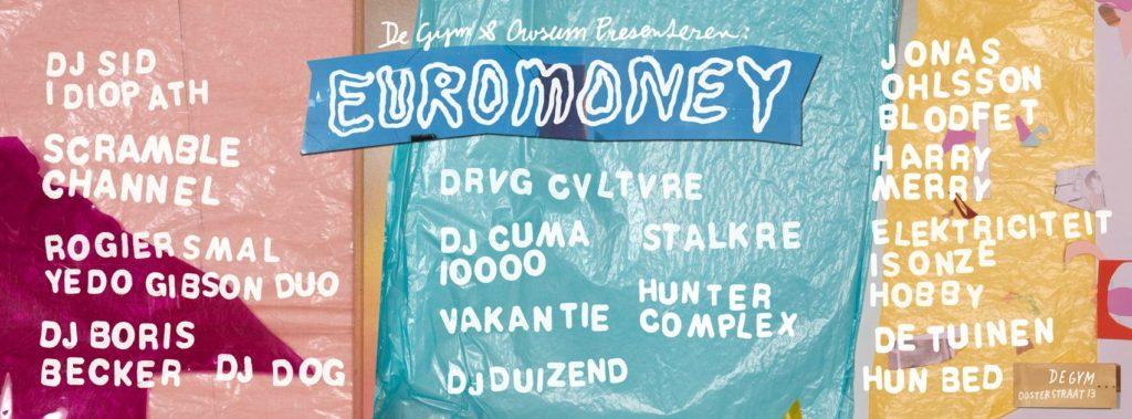 flyer: euromoney, de gym, groningen - january 17 2014