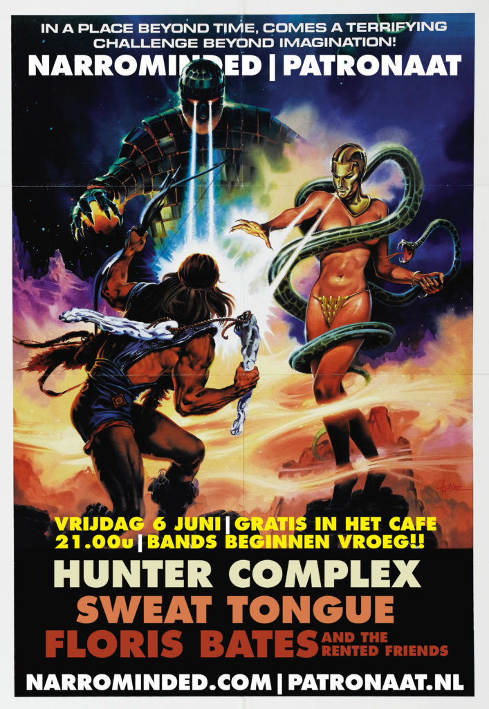 flyer-hunter-complex-patronaat-cafe-haarlem-june-6-2014