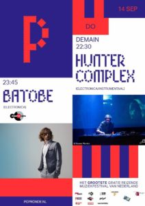 flyer: popronde, demain, nijmegen - september 14 2017