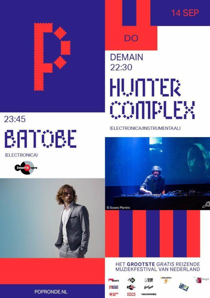 flyer: popronde, demain, nijmegen - september 14 2017