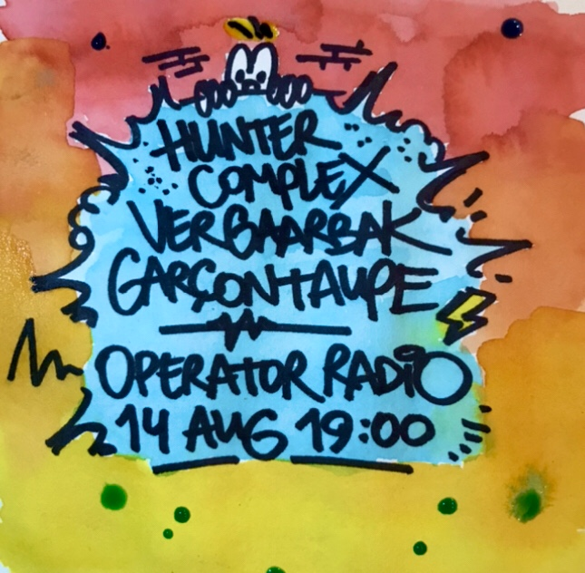 hunter-complex-vergaarbak-garcon-taupe-operator-radio-14-august-2020